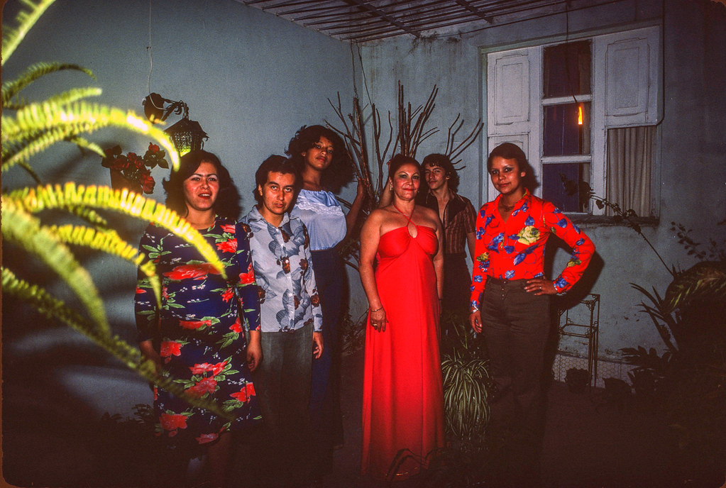 Xmas at the brothel, Medellin, 1976? 123 | by Marcelo  Montecino