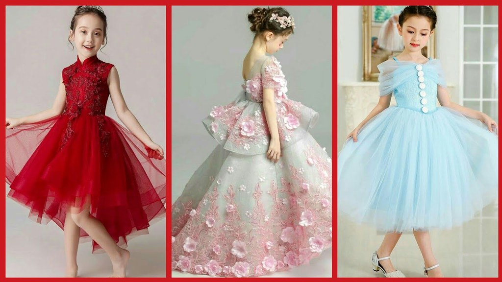 Latest Stylish Birthday Dresses Design For Little Girl L Flickr