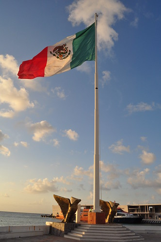 Bandera de Mexico | by mexicovisitor