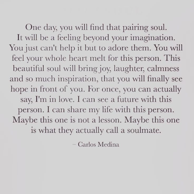 Soulmate And Love Quotes Carlos Medina Quote Words Soul Flickr Simple Soul Love Quotes