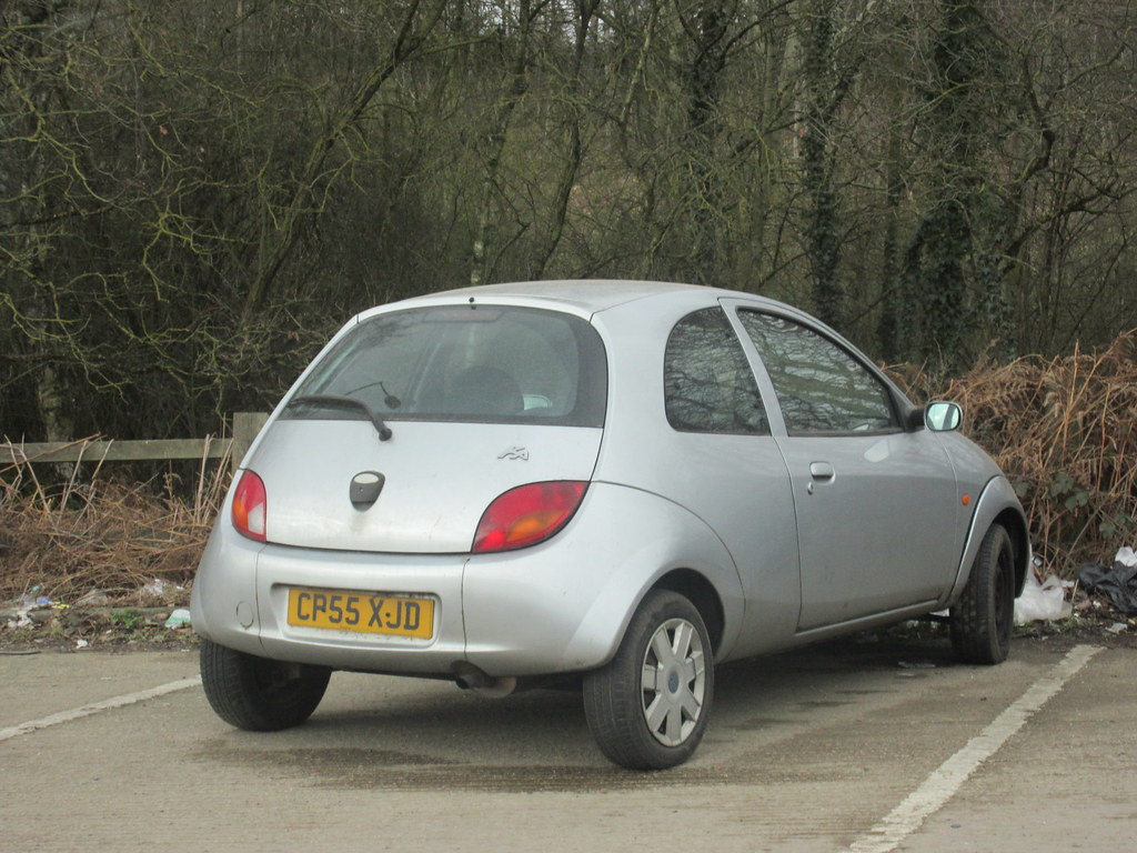 Scrap  Ford Ka Style By Old Surrey Cars