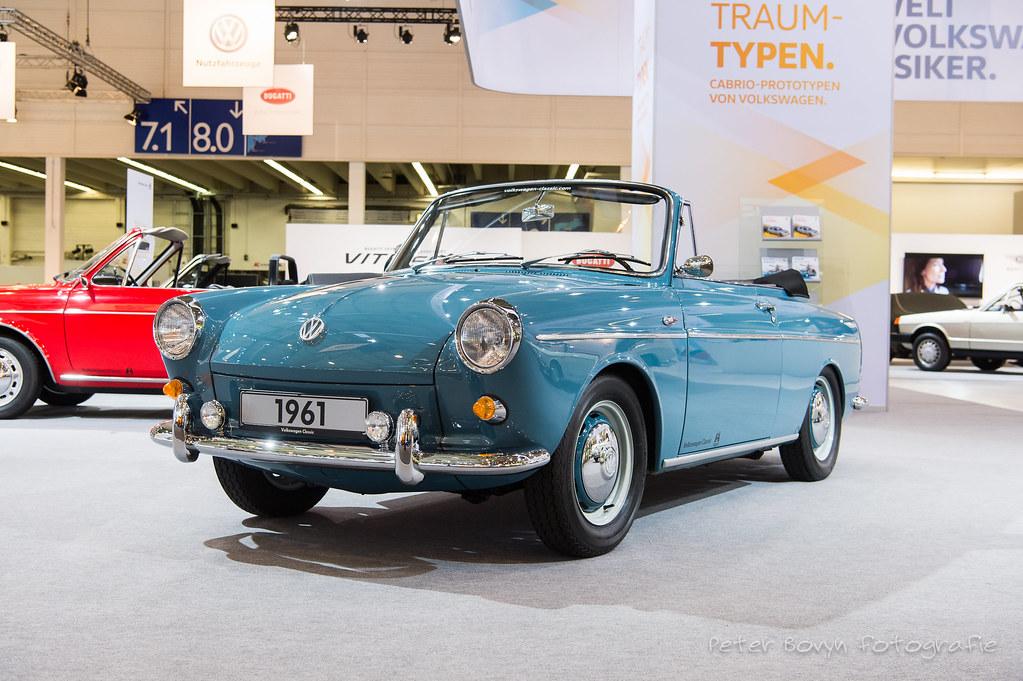 Volkswagen 1500 Cabriolet Concept 1961 Coachwork By Karm Flickr