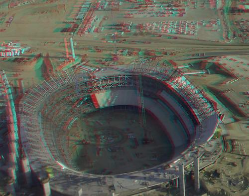 Los Angeles Stadium At Hollywood Park 3d Hyperstereo Red C Flickr