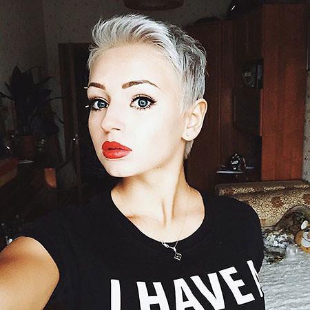 12 Sehr Kurze Frisuren Für Runde Gesichter Frauenfrisuren Flickr