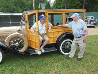 1931 Ford Woody and old friends | by Ken, KE1RI