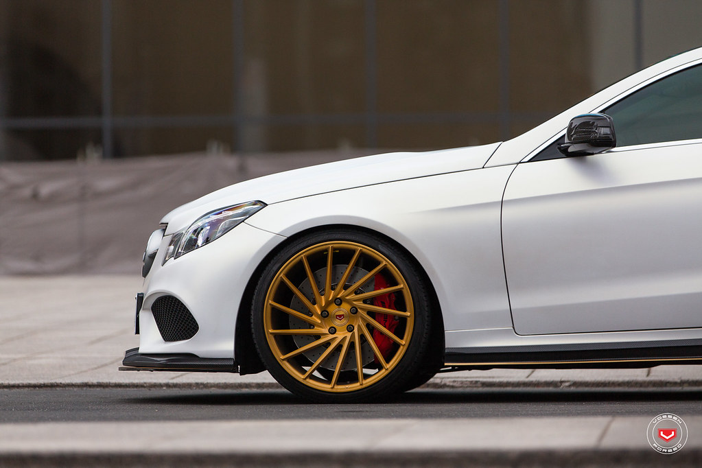Mercedes Benz E500 Coupe Vossen Forged Vps 305t Wheels Flickr