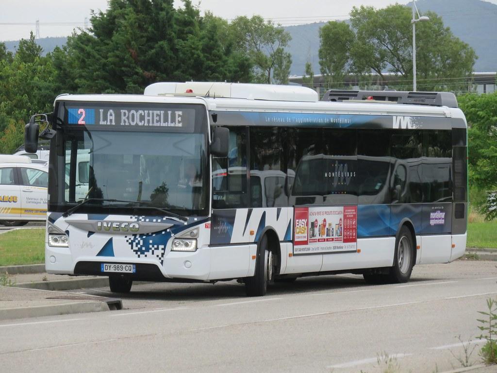 iveco urbanway 12 n°710 - montélibus (route de châteauneuf… | flickr