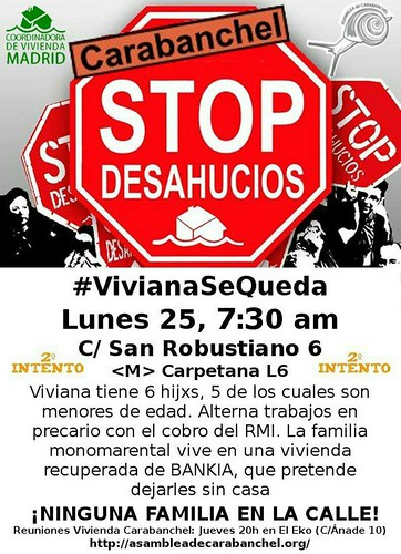 Cartel_StopDesahucio_25jun18 | by A.P. Carabanchel 15M