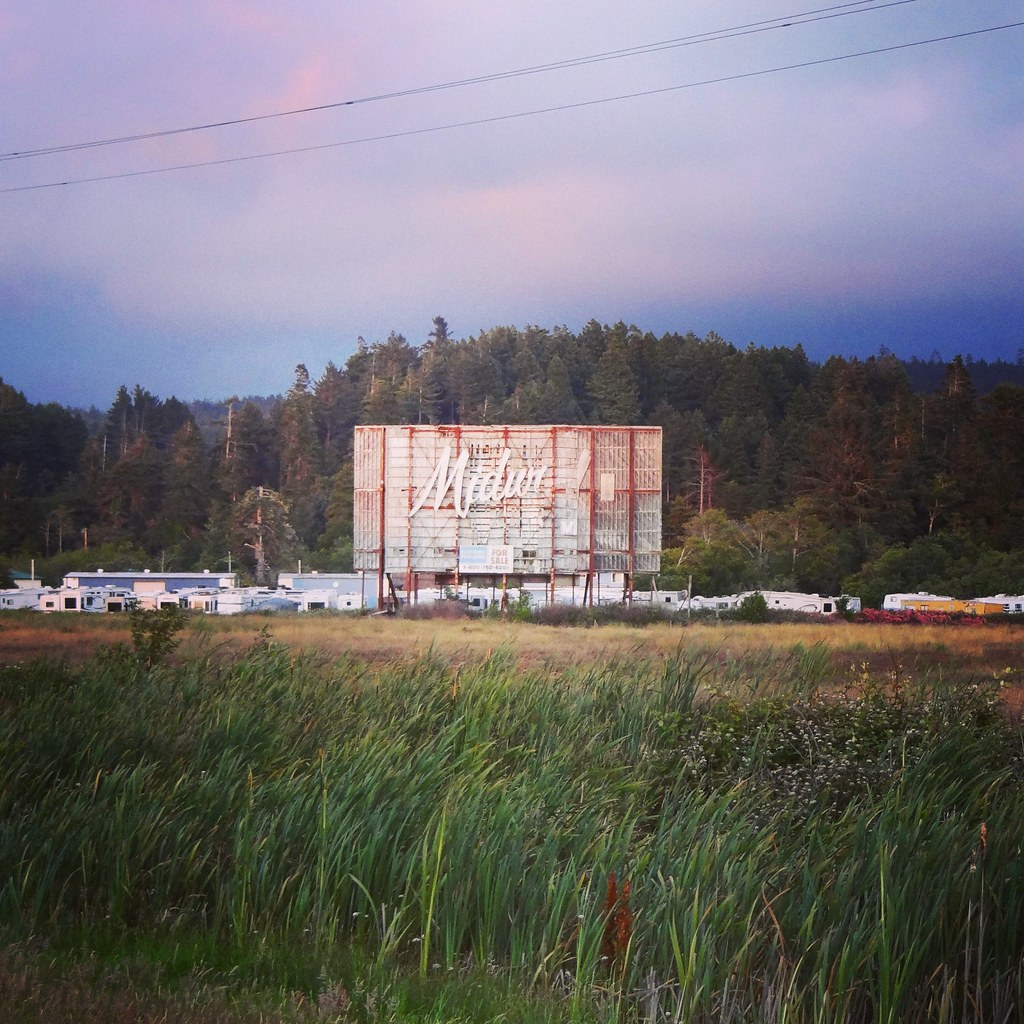 The former Midway drive-in | by rickele