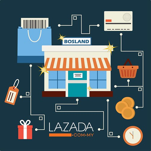 Lazada Store Revamped