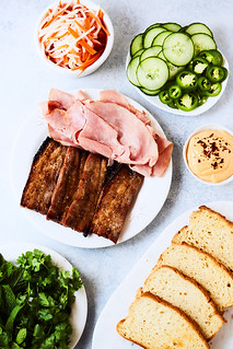 Take Banh Mi: Gluten-free Roasted Pork Belly Banh Mi Sandwich | by Tasty Yummies