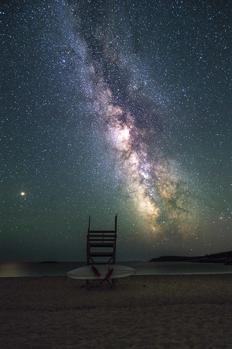 Milky Way over Sand Beach in Acadia National Park | by Craig Shaknis Photography