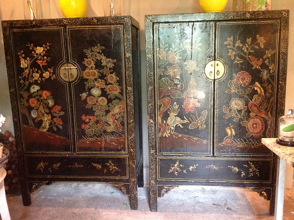 ... A Pair Of Antique Chinese Cabinets | By Twigoftetbury
