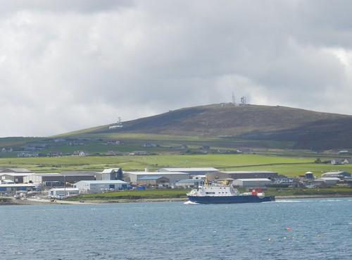 Orkney Islands Ferry Map