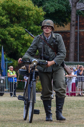 Re-enactment German Soldier | by starsphinx