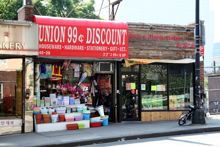 Union 99 Cent Discount And Moon Flower House Flushing Queens By Eating