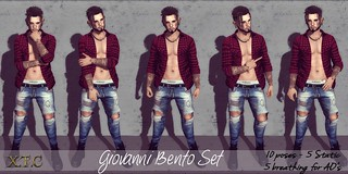 POSE FAIR! Giovanni Bento set (breathing) | by ~X.T.C PoSes~