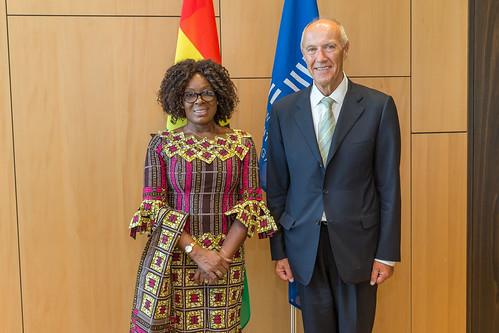 WIPO Director General Meets Ghana's Minister for Justice | by WIPO | OMPI