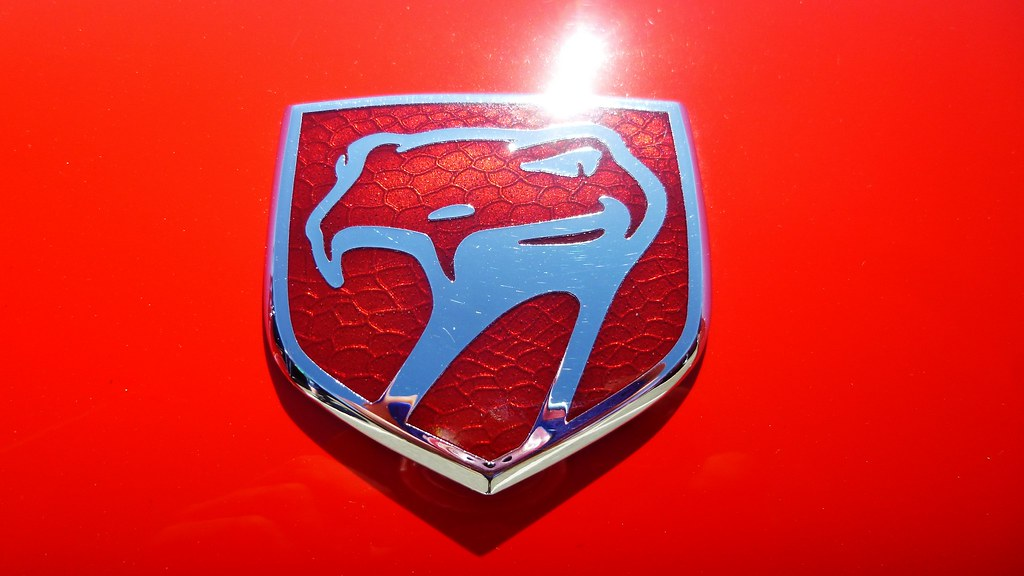 Sunny Dodge Viper Symbol Video From This Viper Youtu Flickr