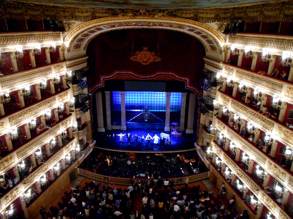 Curtain Calls Of Tosca By Giacomo Puccini At Royal San C
