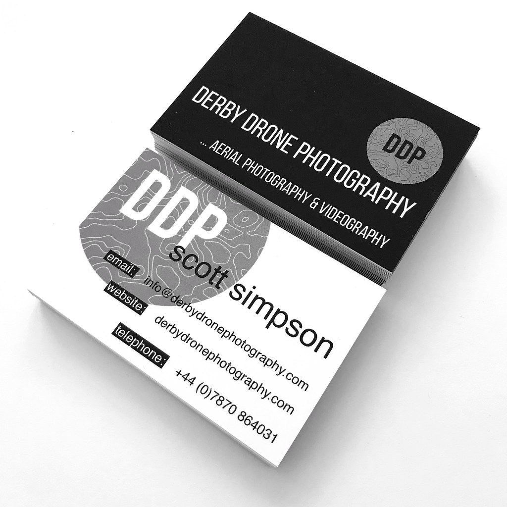 New business cards caa approved drone pilot based in derb flickr new business cards caa approved drone pilot based in derby by scott reheart Choice Image
