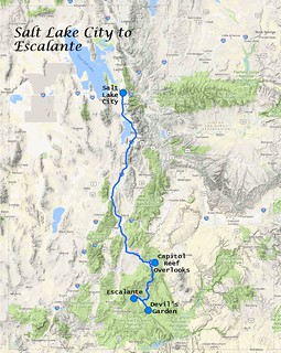 Escalante Map | by gmeador