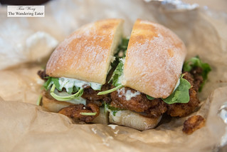 Buttermilk fried chicken sandwich | by thewanderingeater