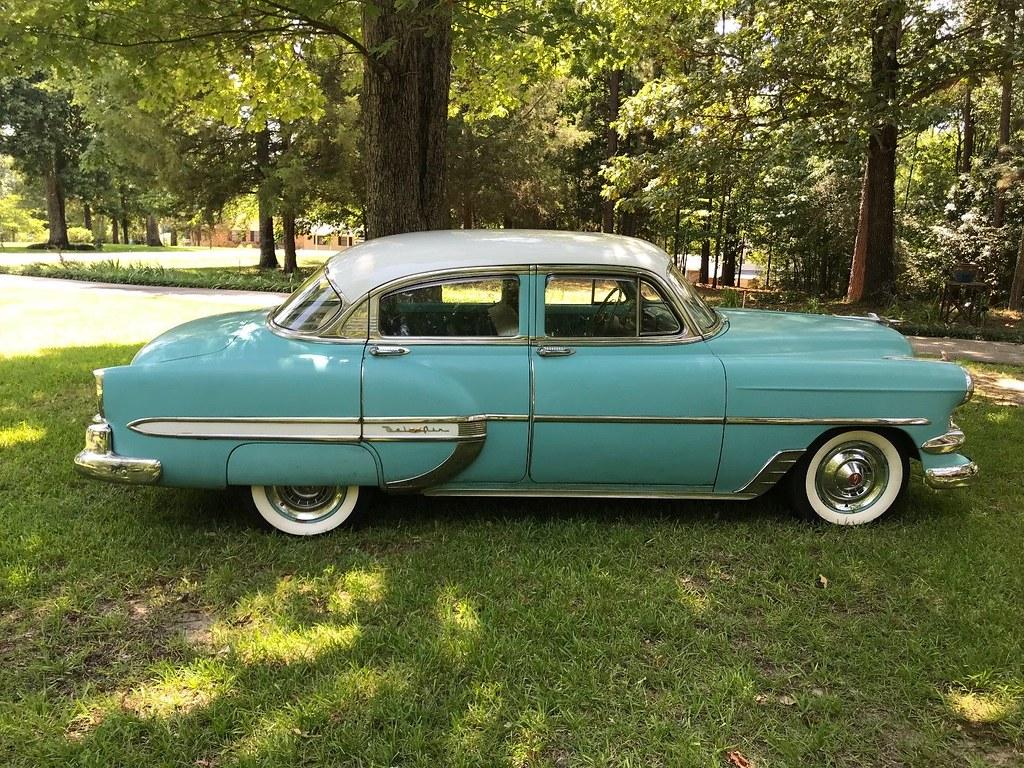1954 Chevrolet Bel Air 4 Door Sedan Hipo Fifties Maniac Flickr By