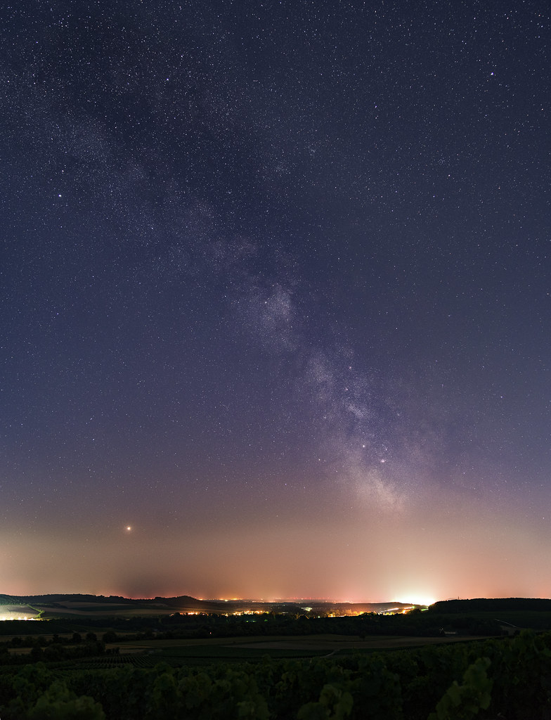 Open Your Eyes And Really See Stars >> Open Your Eyes Mars And The Milky Way Above Avenay Val D O Flickr