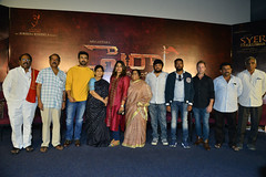 SyeeRaaNarasimhaReddy Teaser Launch Stills