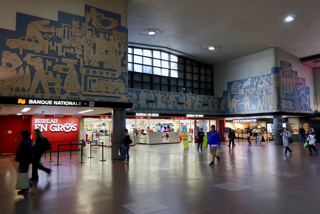Bureau En Gros Montreal : Montreal central station viarail en explore our desu flickr