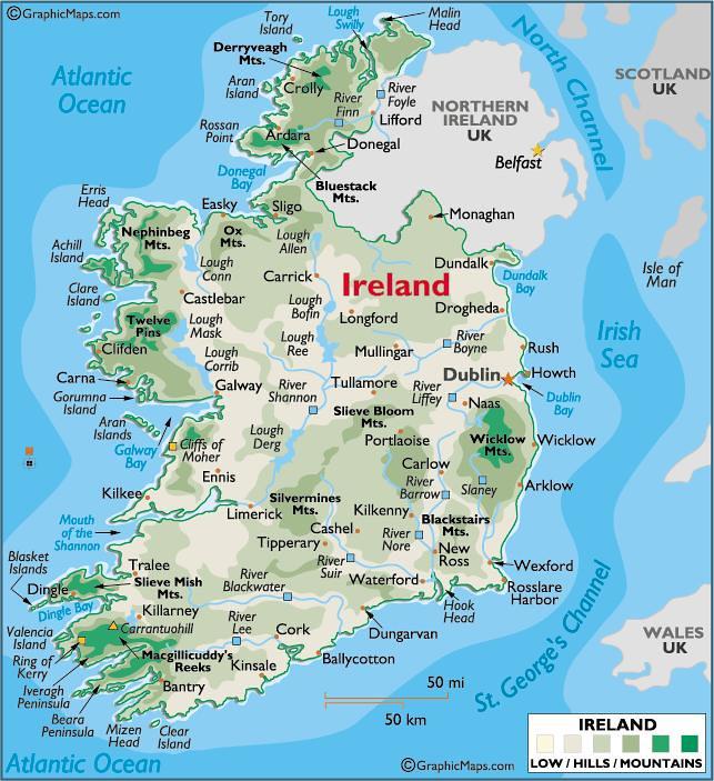 Dingle Bay Ireland Map.Ireland Map K3s Kris Flickr