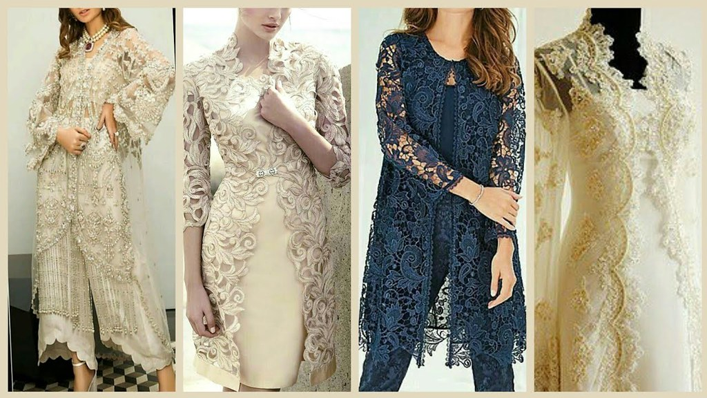 Top Stylish & Classy Party Wear Gown Style Open Shirt Desi… | Flickr