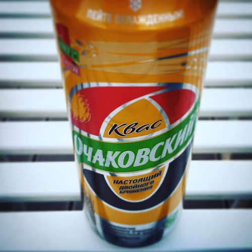 #kvass in a can. This is the best commercial one. If you can't buy it off a seller on an Ulan Ude street corner then go for this. #moscow #softdrinks #russia #ilikeit | by jonworth-eu