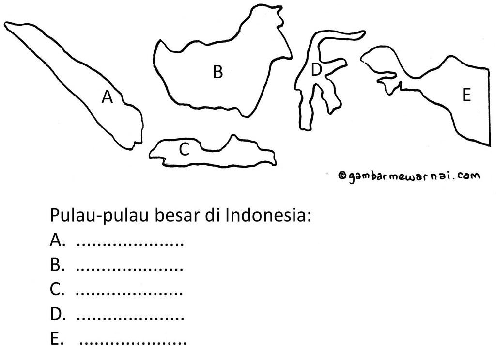 Gambar Peta Indonesia Mewarnai Via Blogger Bit Ly 2moxjp3 Flickr