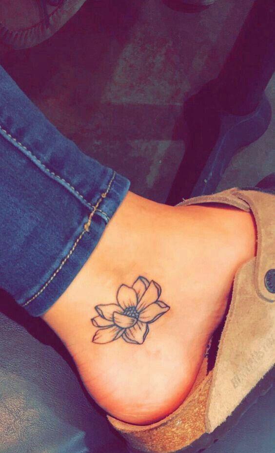 Tatuajes Flor De Loto Minitatuajescom Mini Tatuajes Flickr