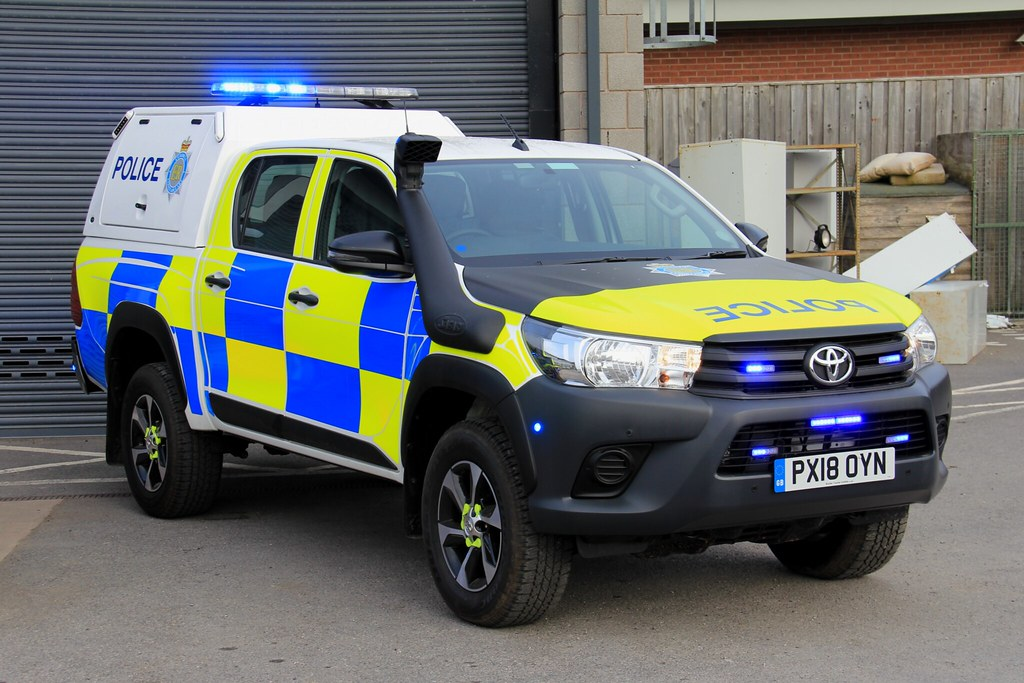 Cumbria Police Toyota Hilux Rural Response Vehicle Flickr