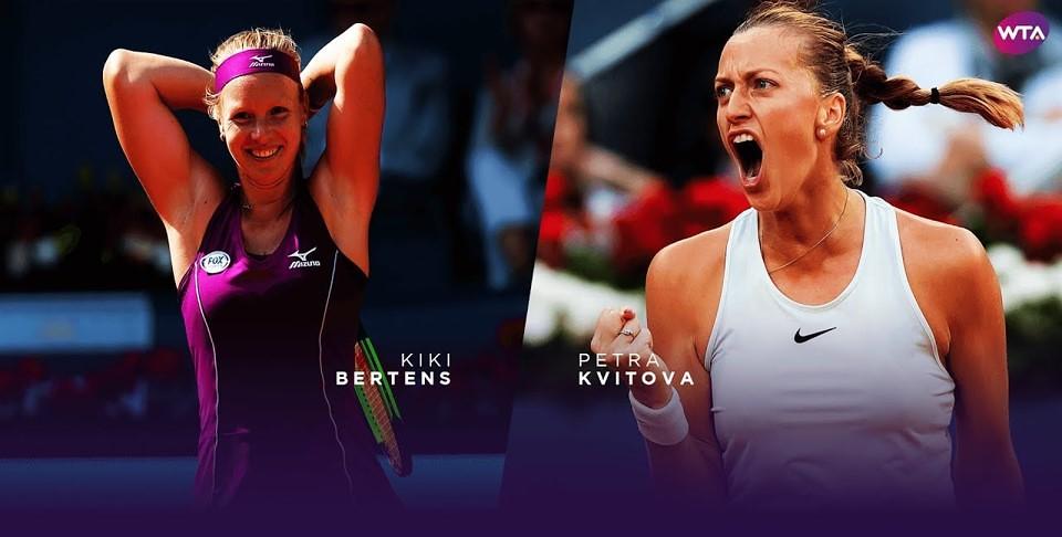 Kiki Bertens Vs Petra Kvitova Tennis Live Stream Wta Cin Flickr