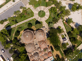 Aerial photo of Bey Hamam in Thessaloniki | by marcoverch