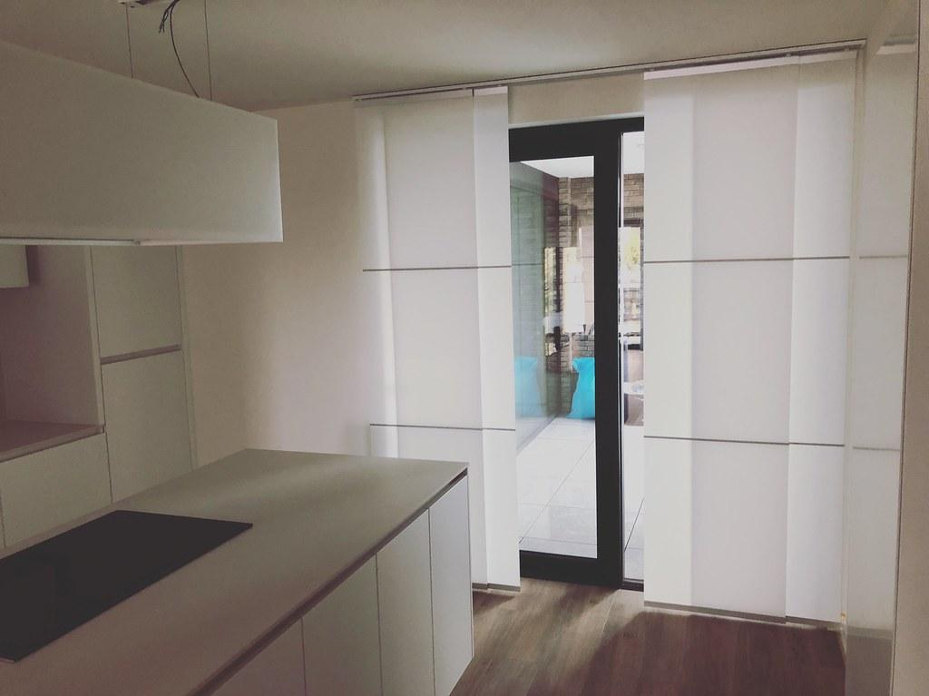 Strakke keuken strakke paneelgordijnen trend idee u flickr