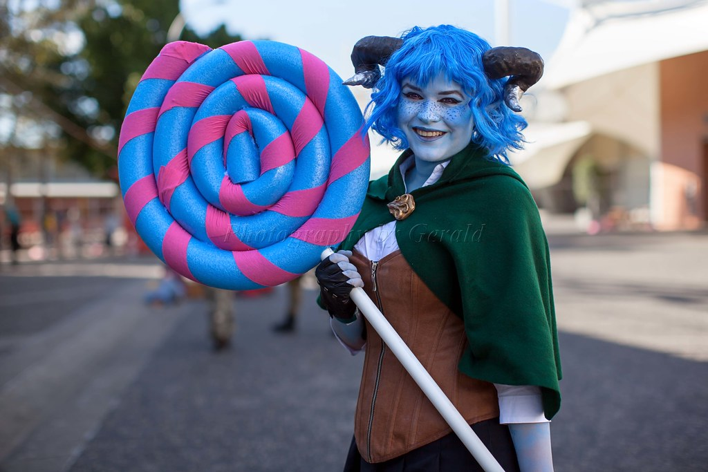 A Tiefling Jester Lavorre A Blue Tiefling Critical Role Flickr