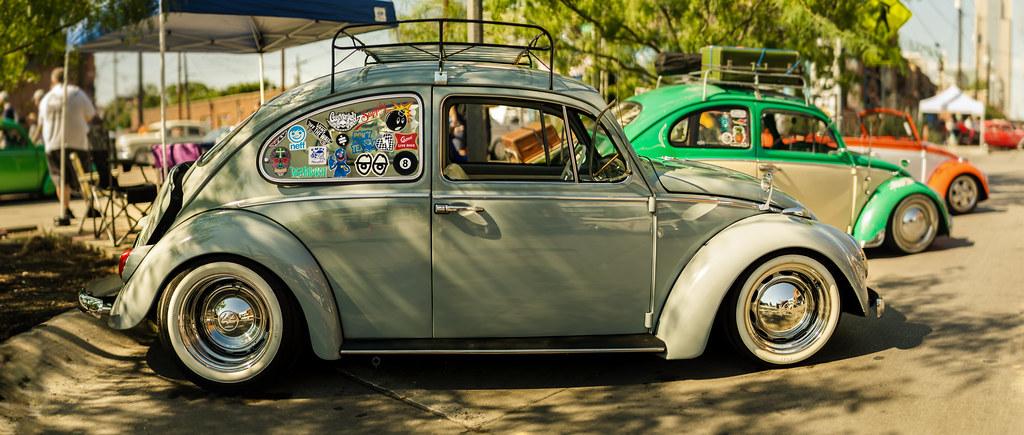 Volkswagen Beetle At Invasion Car Show Dallas TX Flickr - Car show dallas