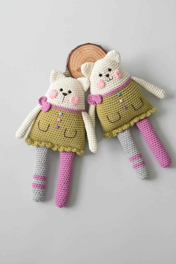 Rag Doll Cat Crochet Toy Pattern Pattern Available At Ww Flickr