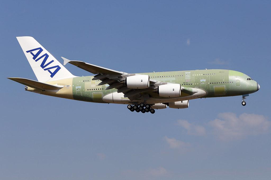 all nippon airways airbus a 380 f wwsh msn 262 lfbo flickr