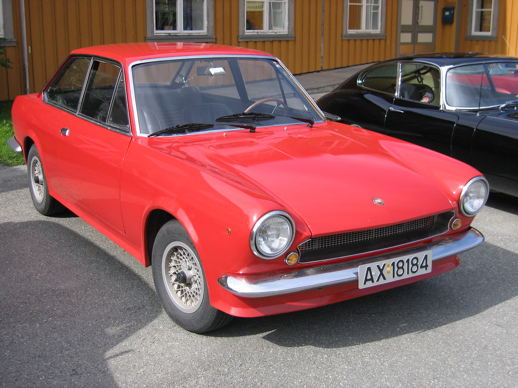 1969 Fiat 124 Sport Spider Coup Stig Baumeyer Flickr By