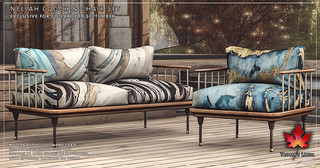 Trompe Loeil - Nellah Couch & Chair Set for Collabor88 September | by TrompeLoeilSL