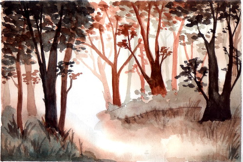 watercolor38-forest | by salazar62