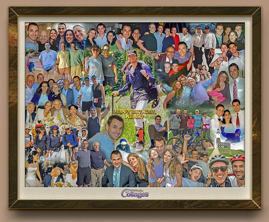 By ProCollage Personalized Unique 50th Birthday Gift Idea