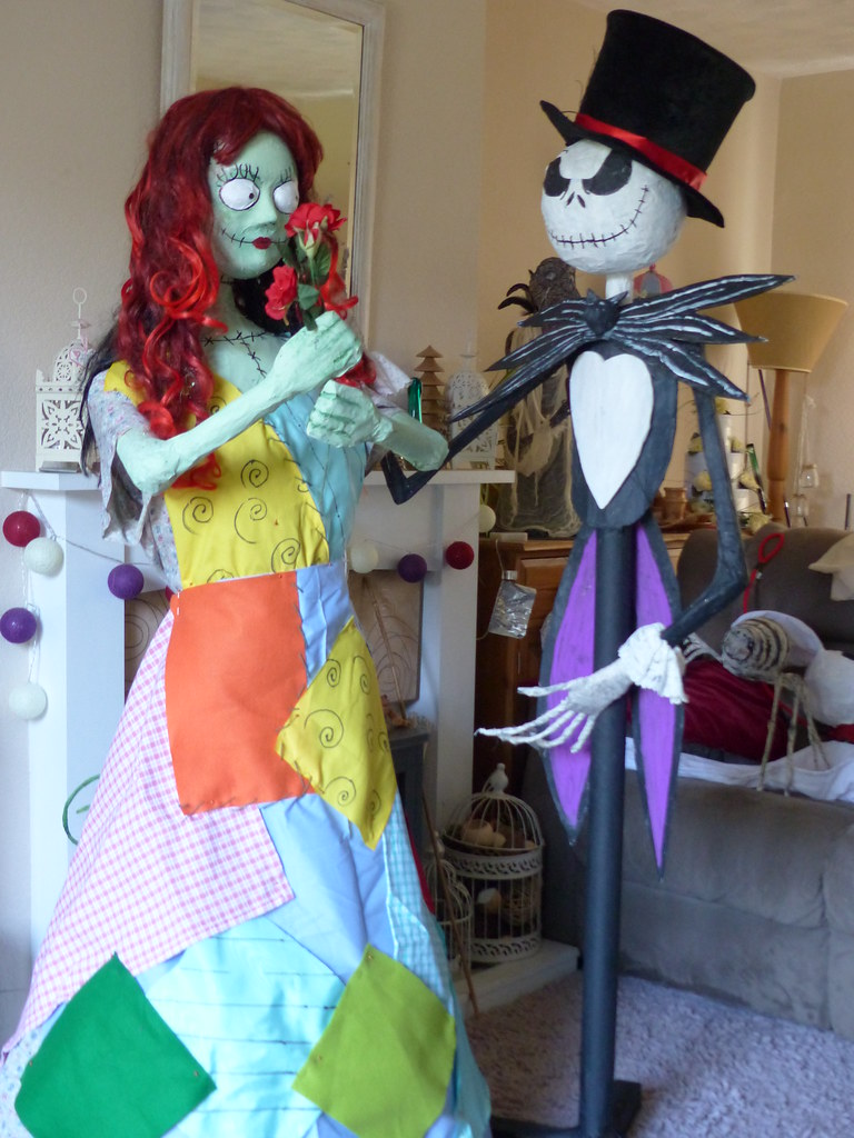jack and sally halloween   getting ready for halloween made …   flickr