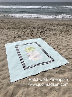 Patchwork Pineapple by Judi Madsen www.judimadsen.com | by gfquilts